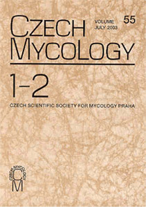 czech mycology journal cover